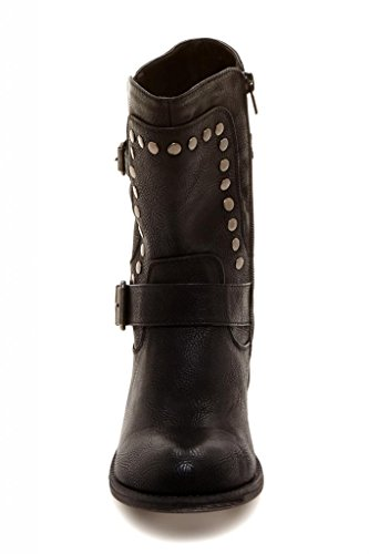 Bucco Black Boot Buckle Studded OLESIA Women's Bwwx0UqR8