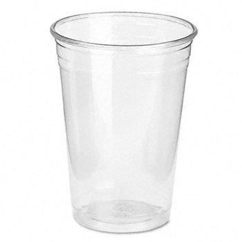 Cold Drink Cups, 10 oz., Clear Plastic [Set of 2] Pack Size: 500 (Carton) by Dixie