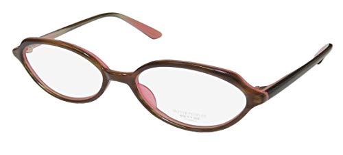 Oliver Peoples Larue Mens/Womens Cat Eye Full-rim Classic Eyes Shape Eyeglasses/Eyeglass Frame (52-16-140, Brown) (Cats Eye Brille)