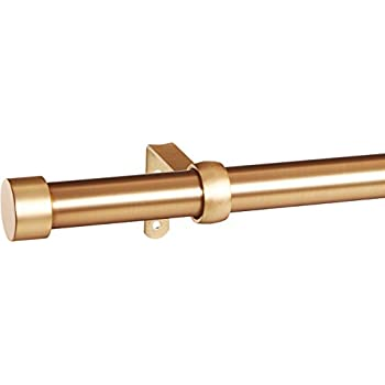 This Item Umbra Cappa 1 Inch Curtain Rod For Window, 66 To 120 Inch, Brass