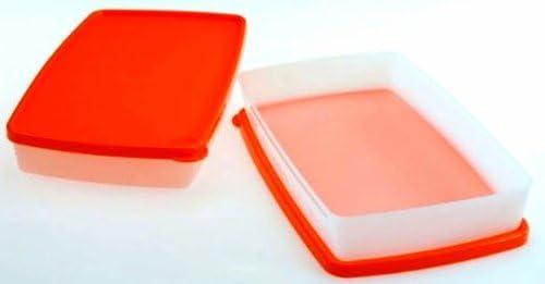 1 A TUPPER plana recipiente (2) congelador dosis - ralladores ...