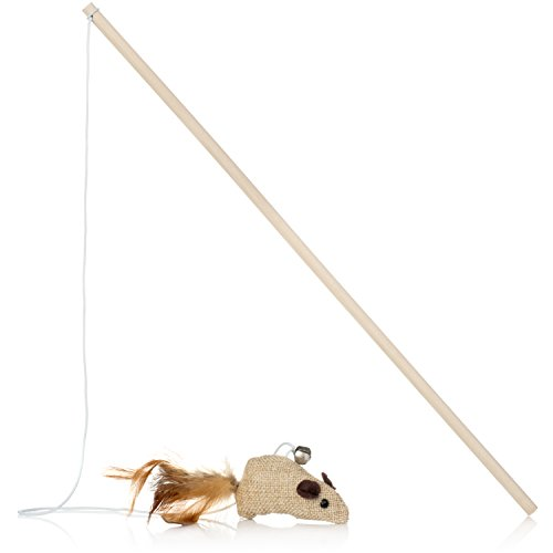 PlayFur-Pets-Hemp-A-Mouse-The-classic-toy-on-a-string-made-with-the-environment-in-mind-Keep-your-kittens-jumping-and-your-cats-pouncing-with-the-elastic-bound-hemp-mouse