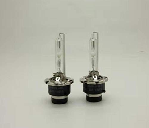 LANDE D2S HID Bulbs 35W 6000K White Xenon HID Headlight Bulb Replacement 2 Year Warranty 2 PCS HID Bulb