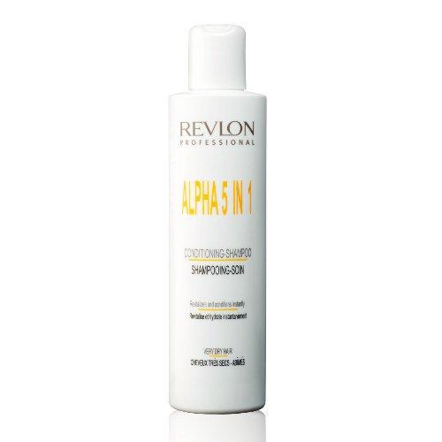 Revlon - shampooing soin 5 en 1 alpha 5 in 1 Cheveux très secs abîmés 250 ml