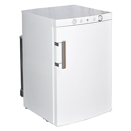 Smad Smad Propane Refrigerator Off Grid Compact Refrigerator with Freezer, 3.5 Cu.Ft, White price tips cheap