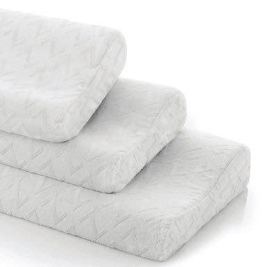 Contour Memory Foam Pillow for Side Sleepers - Featuring Bio Based Non-Toxic Foam