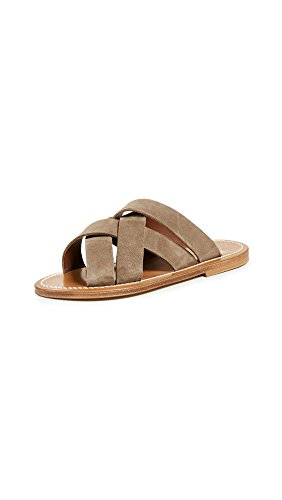 K. Jacques Women's Tortelo Slides, Velours Fango, 37 for sale  Delivered anywhere in USA