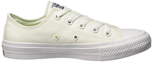 White Collo Sneaker Navy Basso Uomo Ox CT II White Bianco a Converse nqtXvOx