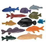 Nasco Life/form Fish Replica Rubber Stamp for Printmaking - Set of 12 - Arts & Crafts Materials - 9725937