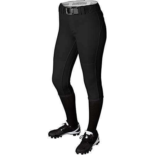 DeMarini Uprising Fastpitch Softball Pants, Small, Black