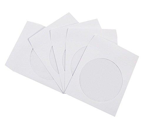100 Paper Sleeve Clear Window - 5