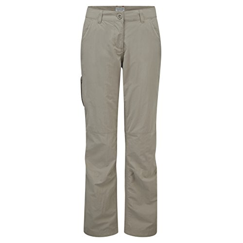 Craghoppers Women's NosiLife Trousers, Mushroom, US 8/UK 12 from Craghoppers