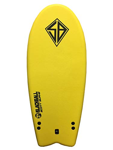 Scott Burke 54″ Blackball Breaker Surfboard (Color may vary)