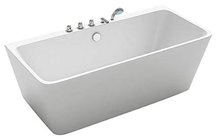Vasca Da Bagno Tradizionale : Taviani vasca da bagno tradizionale rettangolare 170x80cm caronte