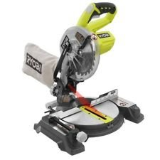 (Ryobi ZRP551 ONE Plus 18V Cordless 7-1/4 in. Miter Saw with Laser (Tool Only - Battery and Charger NOT Included) (Renewed) )