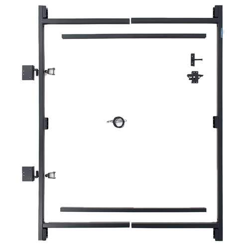 - Fence Walk Through Gate Kit - Adjust-A-Gate Steel Frame No Sag Gate Building Kit - This anti-sag gate kit is perfect for repairing existing sagging gates or building new ones. (36