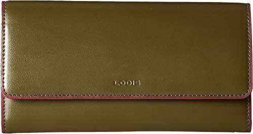 Lodis Audrey RFID Luna Clutch Wallet (Avocado/Berry)