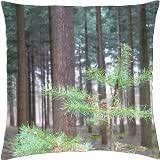 Forest - Throw Pillow Cover Case (18