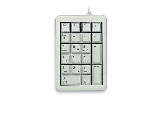 CHERRY UltraSlim Programmable Keypad, Light Gray - 26 Keys