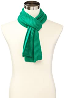 Williams Cashmere Men's Ribbed Scarf, Kelly Green, One Size (B00EOI1L2A) | Amazon price tracker / tracking, Amazon price history charts, Amazon price watches, Amazon price drop alerts