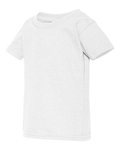 Gildan G510P Heavy Cotton Toddler T-Shirt - White - 2T