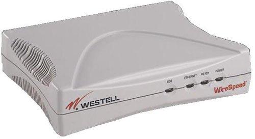 Ethernet Wirespeed (Westell Wirespeed 2100 Ethernet/USB Modem B90-210015-04)