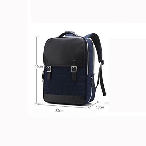 Laptop treasure Daypack inches Multifunction Backpack 14 Nylon Business Package blue tAUqHpw