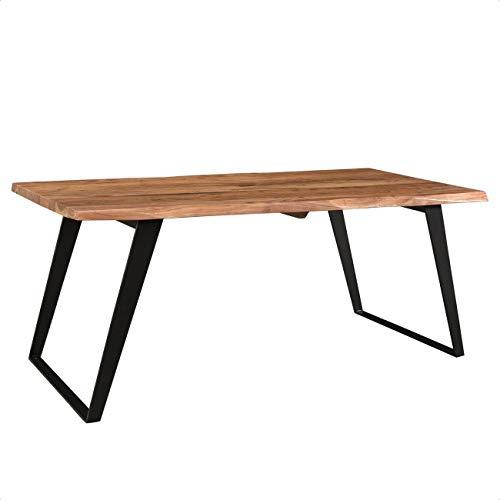 Emmeline Solid Wood Live Edge Dining Table