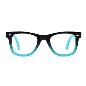 TIJN Safety Wayfarer Eyewear Eyeglasses for Kids Girls