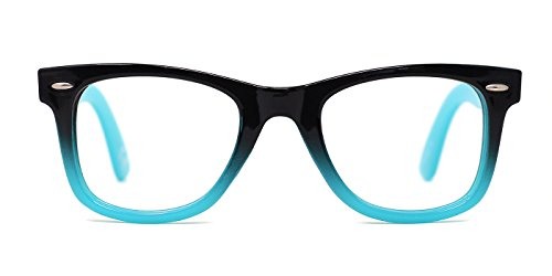 TIJN Safety Wayfarer Eyewear Eyeglasses for Kids - Glasses Girls