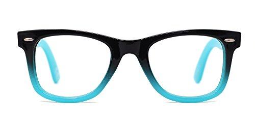 TIJN Safety Wayfarer Eyewear Eyeglasses for Kids - Kids Glasses Prescription