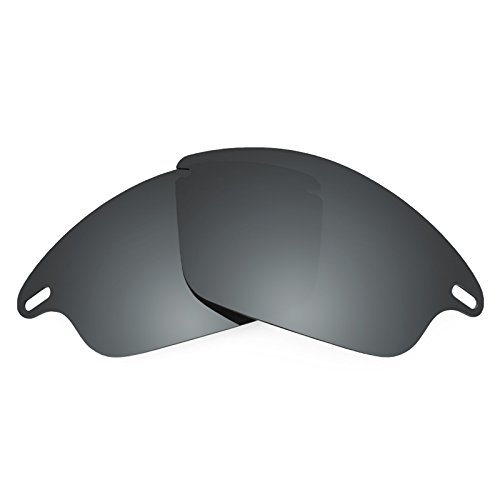 Revant Polarized Replacement Lenses for Oakley Fast JacketBlack Chrome - Polarized Fast Lenses Jacket Oakley