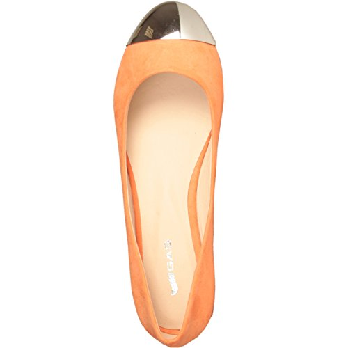 pointe sued flats ballet ballerines Gas orange avec chaussures originals footwear xvq7RHa
