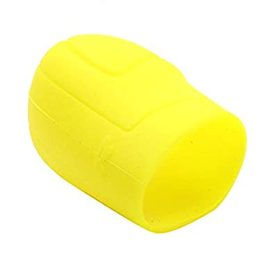 AUTUT Silicone Car Gear Shift Knob Cover Protector, Yellow: Automotive