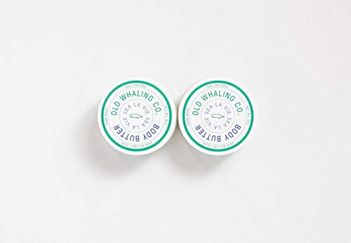 TWO Sea La Vie Body Butters || handmade lotion/shea butter/aloe vera/paraben and mineral oil free/moisturizing / soft citrus floral by Old Whaling Co.