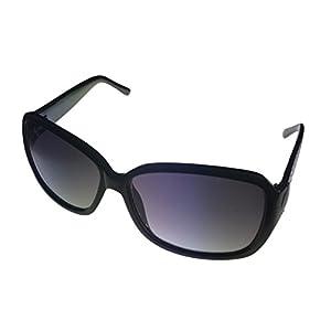 Women's Rectangle Black Sunglasses