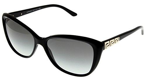 Versace Sunglasses Women Black Butterfly VE4264B GB1/11 by Versace