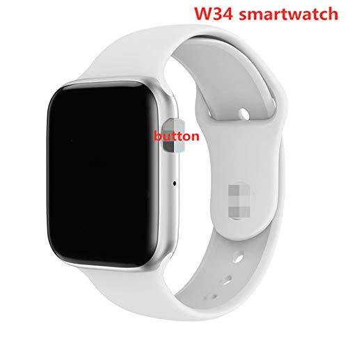 RONSHIN W34 Bluetooth-Smartwatch mit EKG-Herzfrequenzmesser, f¨¹r Android und iOS
