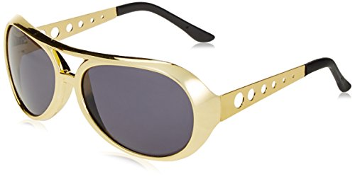 Jacobson Hat Company Gold Rock Star Aviator Glasses
