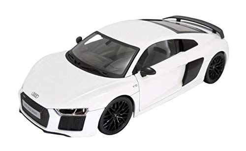 Audi R8 V10 Plus White Exclusive Edition 1/18 by Maisto for sale  Delivered anywhere in USA