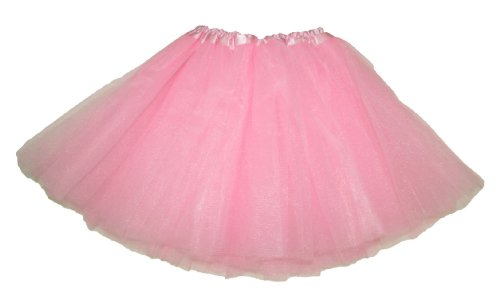 Hairbows Unlimited Light Pink Dance or Ballet Tutu Skirts for Girls Babies and Toddlers