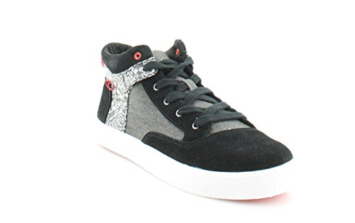 TOMS Women's Camila High – Keith Haring Keith Haring Chalkboard Sneaker 10 B (M)