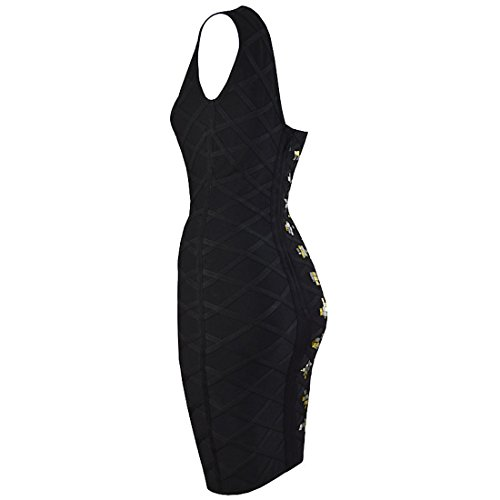 Kleid HLBCBG schwarz Damen XS schwarz 1xTO5xq