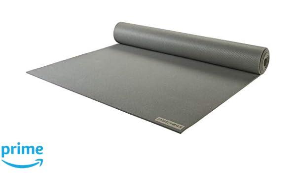 JadeYoga Harmony - Esterilla de Yoga (172,8 cm), Color Gris ...