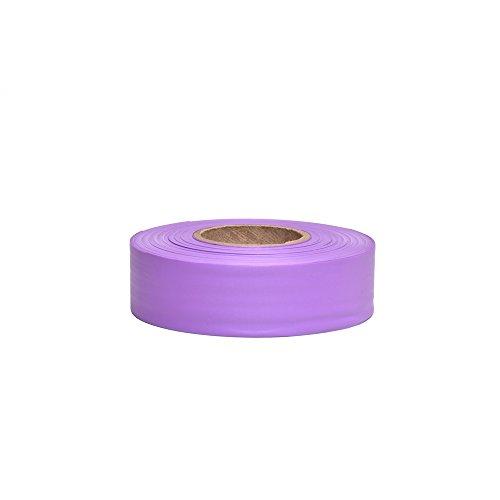 - Swanson RFTPP300 1-3/16-Inch by 300-Feet Taffeta Roll Flagging, Purple