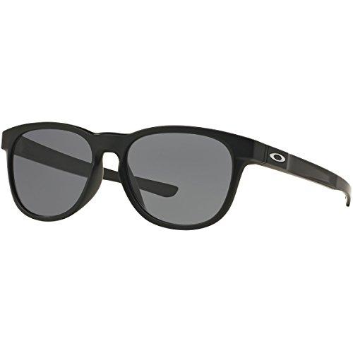 Oakley Men's Stringer Rectangular Sunglasses, Matte Black, 55 - Oakley Sunglasses Retail