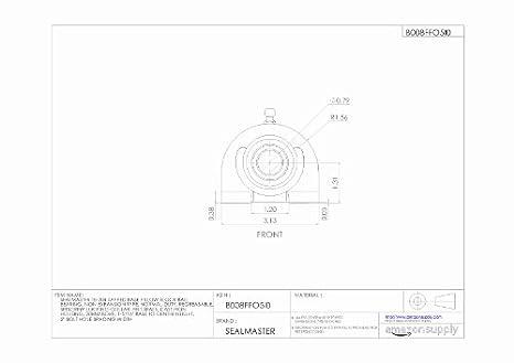 Amazon.com: sealmaster tb-204 tapped Base Almohada bloque ...