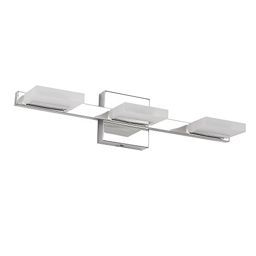 Progress Lighting P2039-15WB Arise 3-Lt. Bath and Vanity Fixture with Etched opal glass shades delicate