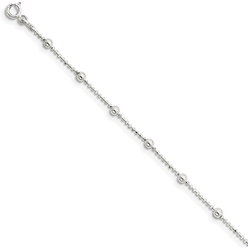 Findingking sterling silver bead chain 16