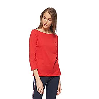 Tommy Hilfiger T-Shirts For Women, Red S